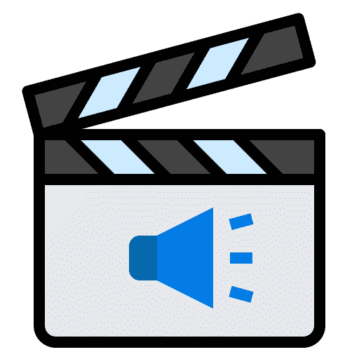 iconfinder media cinema clapperboard social media network 4288563